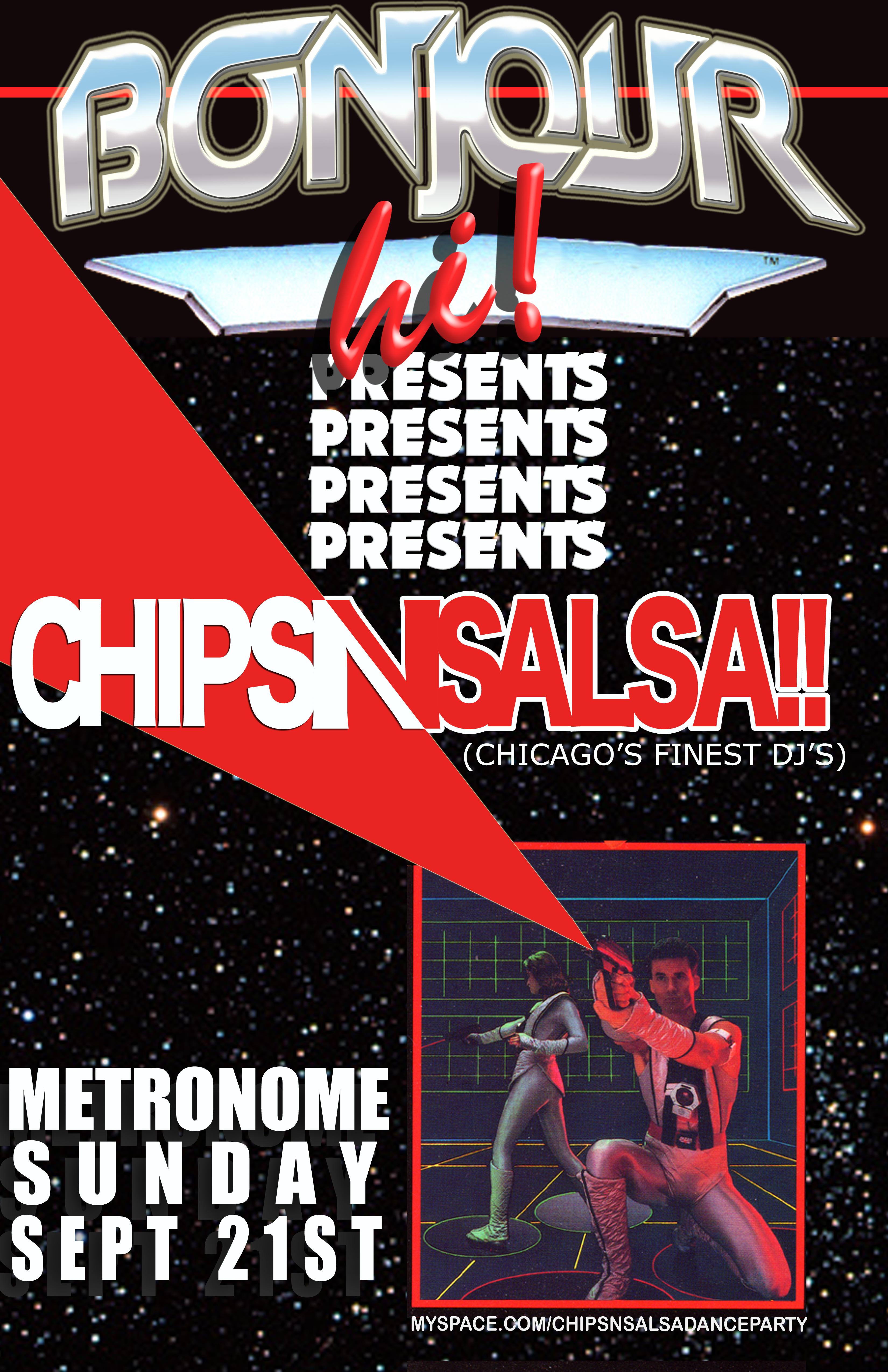Bonjour-Hi! featuring Chips-N-Salsa